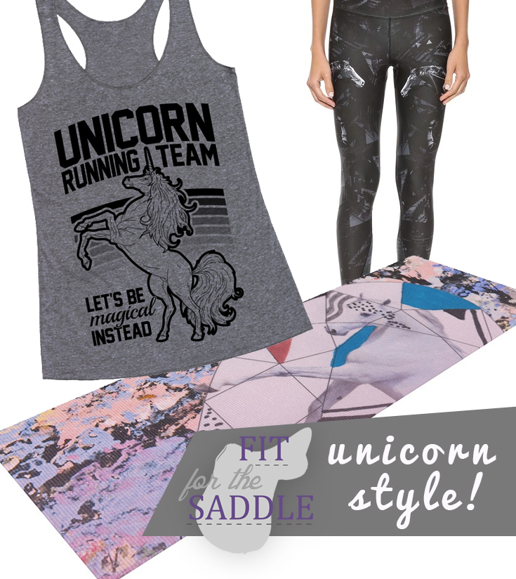 Fit For The Saddle: Unicorn Style at seehorsedesign.com